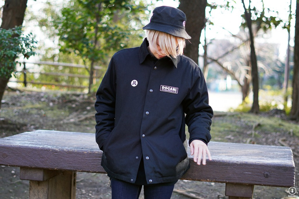 SUPERNORMAL CLUB JACKET Color:BLACK